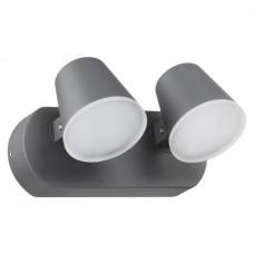 357831 NT18 155 темно-серый Ландшафтный настенный светильник LED 3000К 20W 220-240V KAIMAS