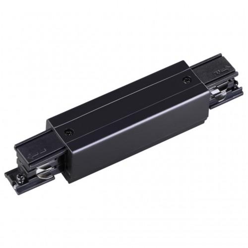 135051 NT19 012 черный Соединитель с токопроводом прямой внешний для трехфазного шинопровода IP20 22