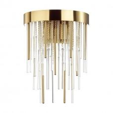 4784/2W ODL21 329 золото/металл/стекло Бра E14 2*40W AVISTA