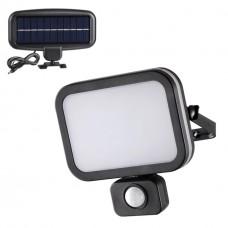 358020 NT19 182 черный Ландшафтный светильник на солнечной батарее IP54 LED 6000К 12.4W 3.7V SOLAR