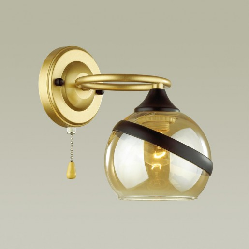 4547/1W COMFI LN21 054 матовое золото, черный Бра E27 60W 220V EDEN