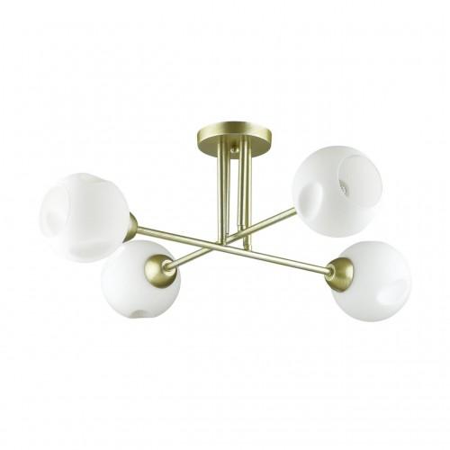 4519/4C COMFI LN20 матовое золото, белый Люстра потолочная E27 4*40W 220V PAIGE