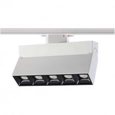 357841 NT18 058 белый/черный Трековый светильник IP33 LED 3000К 25W 110-265V EOS