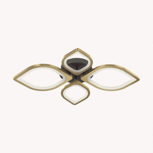 4580/99CL LEDIO LN21 черный, золотой Люстра потолочная LED 116W 5130Лм 3000-6000K 220V HONEY