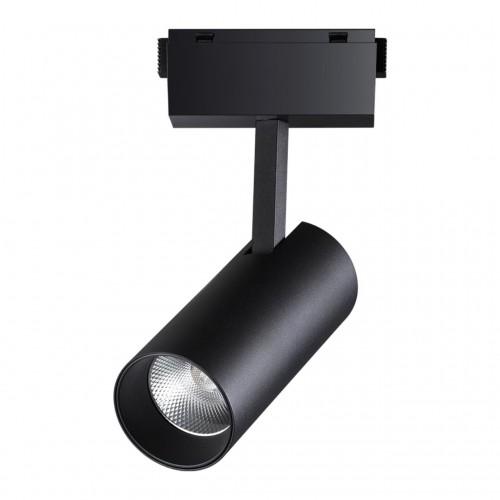 358527 SHINO NT21 000 черный Трековый светильник для низковольного шинопровода IP20 LED 4000K 30W 48V KIT
