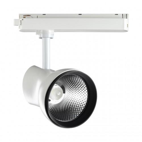 358436 PORT NT20 000 белый Однофазный трековый светильник IP20 LED 4000K 20W 220-240V PIRUM
