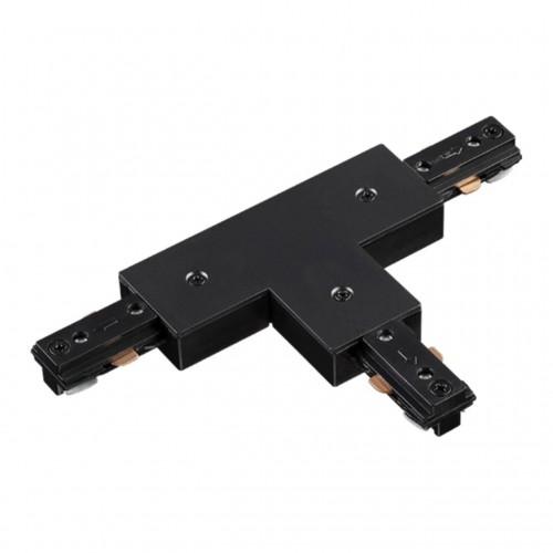 135011 NT18 015 черный Соединитель для с токопроводом шинопровода T-образный для однофазного шинопро