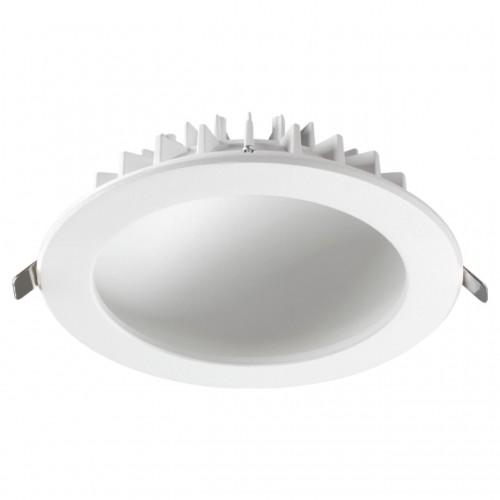358277 NT19 000 белый Встраиваемый светильник IP20 LED 4000K 20W 100-240V GESSO
