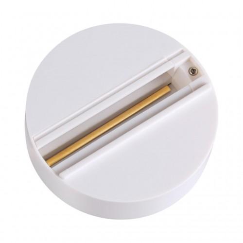 135072 NT19 013 белый Трехфазная чаша крепления для стационарной фиксации прожекторов P20 220V