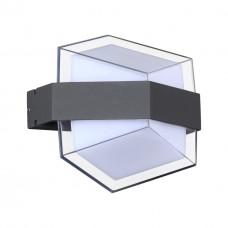 358574 STREET NT21 000 темно-серый Ландшафтный настенный светильник IP54 LED 4000K 12W 85-265V KAIMAS
