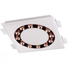 357933 NT19 039 белый/черный/медь Встраиваемый под покраску светильник IP20 LED 3000К 48W 220-240V