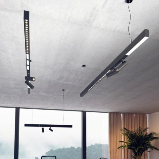 358100 NT19 008 черный Линейный светильник IP20 LED 4000K 12W 24V RATIO