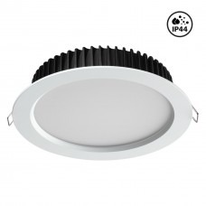358304 NT19 000 белый Встраиваемый св-к (драйвер в комплект не входит) IP44 LED 3000K 20W 85-265V DR