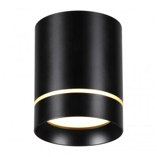 357685 NT18 070 черный Накладной светильник IP20 LED 3000K 9W 160-265V ARUM