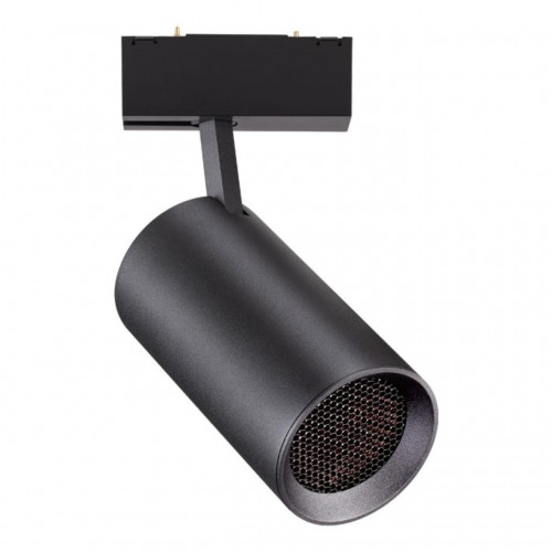 358069 NT19 011 черный Трековый светильник для низковольтного шинопровода IP20 LED 4000К 20W 24V KIT