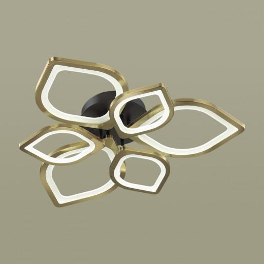 4581/99CL LEDIO LN21 черный, золотой Люстра потолочная LED 174W 8220Лм 3000-6000K 220V HONEY