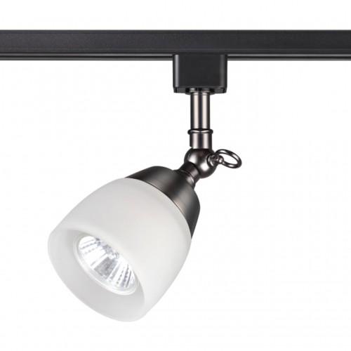 370550 NT19 106 состаренная бронза Трековый светильник IP20 GU10 50W 230V VETERUM