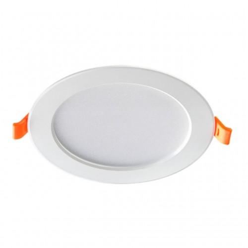 357573 NT18 079 белый Встраиваемый светильник IP20 LED 3000K 10W 175-265V LUNA