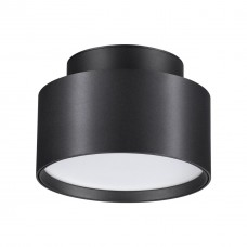 358354 OVER NT20 000 черный Светильник накладной IP20 LED 18W вниз/6W вверх 85-265V 4000K ORO