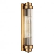 4821/2W WALLI ODL21 505 бронзовый/прозрачный Настенный светильник E14 2*40W LORDI