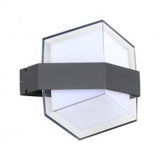 358575 STREET NT21 000 темно-серый Ландшафтный настенный светильник IP54 LED 4000K 12W 85-265V KAIMAS
