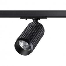 370763 PORT NT21 000 черный Однофазный трековый светильник IP20 GU10 50W 220V MAIS