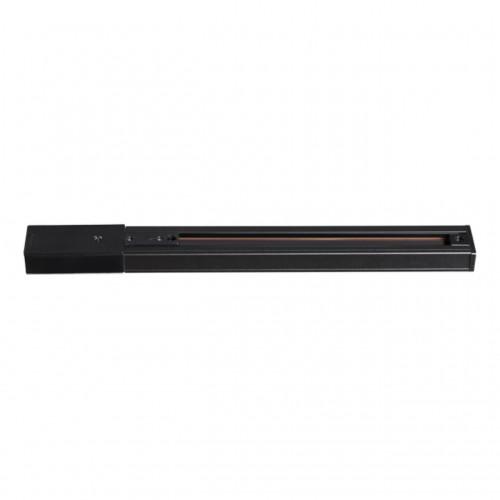 135003 NT18 014 черный Однофазный шинопровод с токопроводом и заглушкой, 2м IP20 220V
