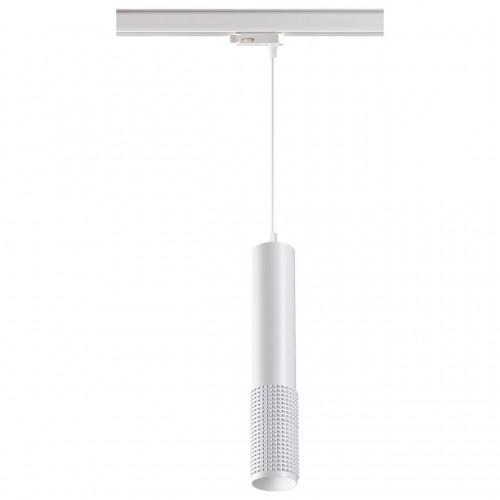 370773 PORT NT21 000 белый Трехфазный трековый cветильник, провод 1м IP20 GU10 50W 220V MAIS