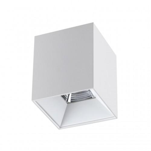 358478 OVER NT21 000 белый Светильник накладной IP20 LED 4000K 15W 200-260V RECTE