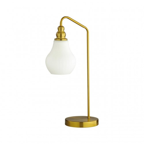 4562/1T MODERNI LN21 латунь Настольная лампа E27 60W 220V ELEONORA