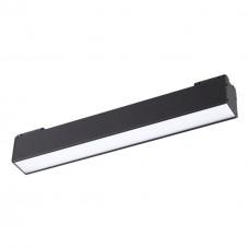 358070 NT19 011 черный Трековый светильник для низковольтного шинопровода IP20 LED 4000К 12W 24V KIT