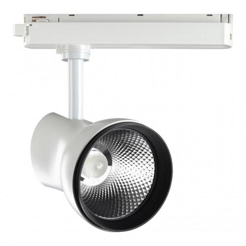 358438 PORT NT20 000 белый Однофазный трековый светильник IP20 LED 4000K 30W 220-240V PIRUM