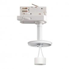 370685 NT19 000 белый Светильник трековый трехфазный без плафона (плафоны арт. 370694-370711) IP20 G