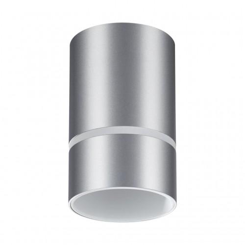 370733 OVER NT21 000 серебро Светильник накладной IP20 GU10 9W 235V ELINA