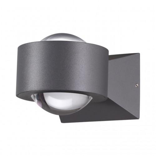 358154 NT19 153 темно-серый Ландшафтный настенный светильник IP54 LED 4000K 6W 85 - 265V CALLE