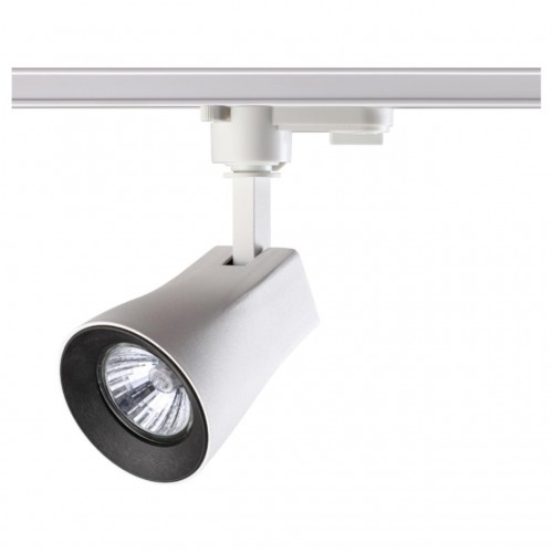370404 NT18 059 белый/черный Трековый светильник IP33 GU10 50W 110-265V PIPE