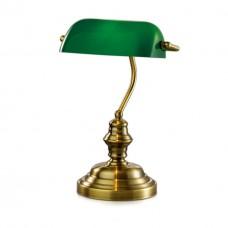 2224/1T ODL12 684 бронза/зелёный Н/лампа E27 60W 220V TRES