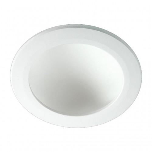 357353 NT17 80 белый Встраиваемый светильник IP20 LED 3000K 12W 85-265V GESSO