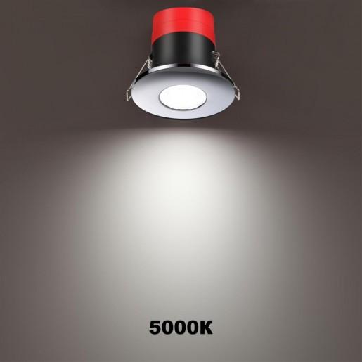 358640 SPOT NT21 000 хром Светильник встраиваемый светодиодный диммируемый, смена цв. температуры IP65 LED 3000К4000К5000К 8W 220V REGEN