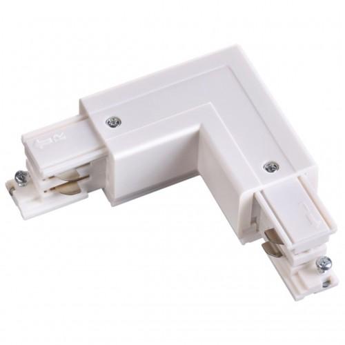"""135064 NT19 013 белый Соединитель """"L"""" внутренний с токопроводом для трехфазного шинопровода IP20 220"""