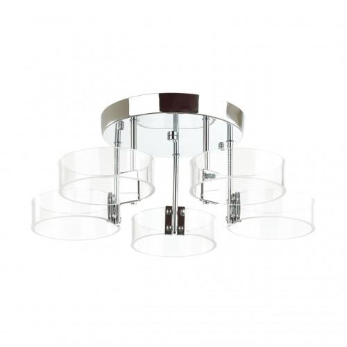 4496/40CL LEDIO LN20 хром Люстра потолочная LED 40W 4000K 3400lm 220V HUDSON