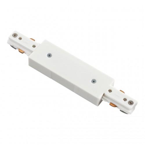 135004 NT18 015 белый Соединитель с токопроводом для однофазного шинопровода IP20 220V