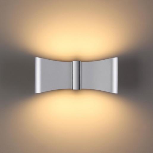 4215/12WL HIGHTECH ODL21 серебр/хром/металл Настенный светильник IP20 LED 12W 526Лм 3000K MOTION