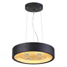 3875/4L ODL19 черный с золотом Подвесной светильник GU10 1*50W 220V GLASGOW