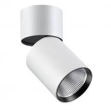 357471 NT18 074 белый Накладной светильник IP20 LED 3000K 25W 100-240V TUBO