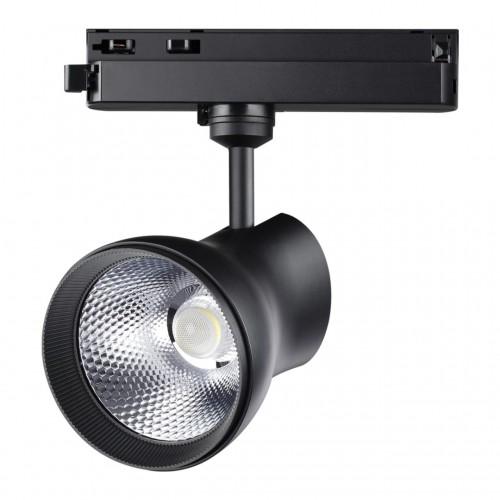 358439 PORT NT20 000 черный Однофазный трековый светильник IP20 LED 4000K 30W 220-240V PIRUM