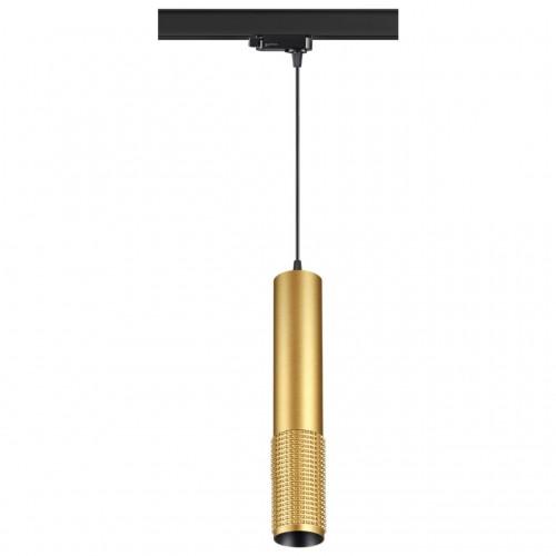 370774 PORT NT21 000 золото Трехфазный трековый cветильник, провод 1м IP20 GU10 50W 220V MAIS