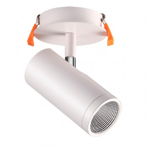 357460 NT18 073 матовый белый Встраиваемый светильник IP20 LED 3000K 10W 100-240V SOLO