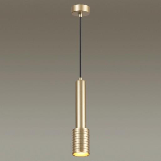 4237/1 HIGHTECH ODL22 золотистый/металл Подвесной светильник IP20 LED GU10 10W MEHARI