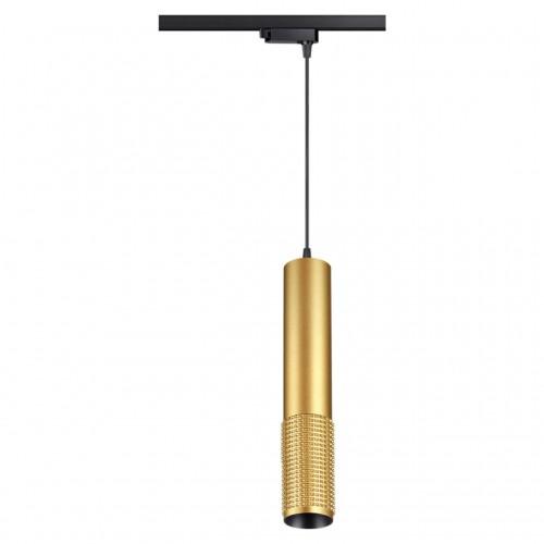 358503 PORT NT21 000 золото Однофазный трековый светодиодный светильник, длина провода 1м IP20 LED 4000K 12W 220V MAIS LED